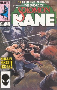 Solomon Kane #01 from Marvel